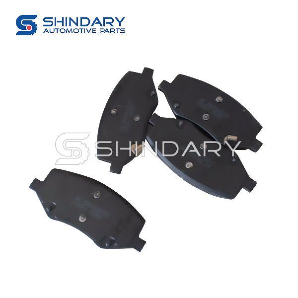 Front brake pad kit for JAC S2 3500310U2230-F01