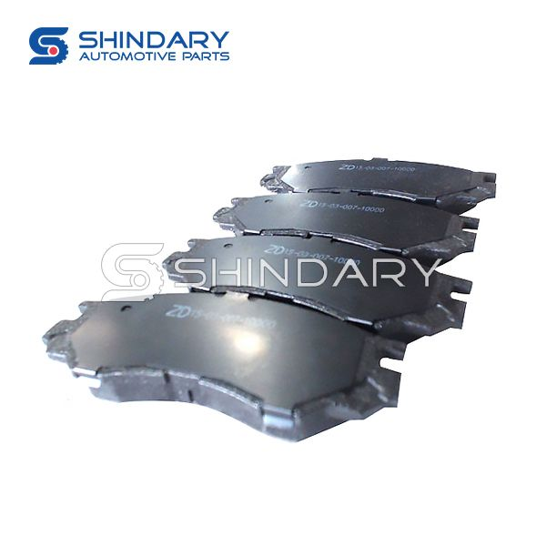 Brake pads 3501012-0000 for ZX AUTO