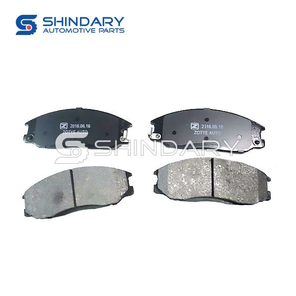 Brake pads 3501119001-B11Y for ZOTYE