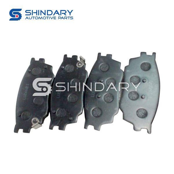 Brake pads 3501300A0127002 for ZOTYE