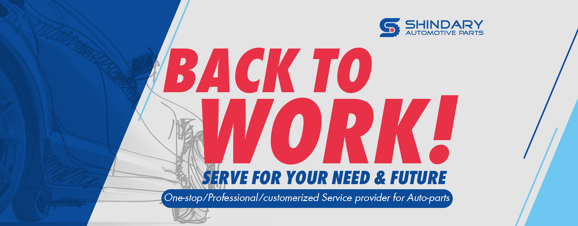 shindary automotive parts back to work