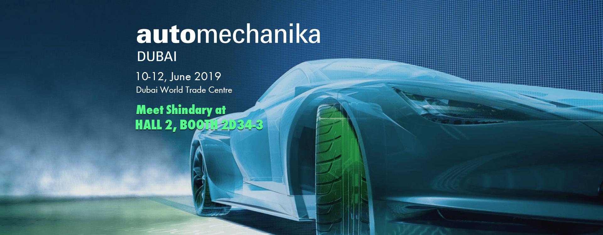 automechanika DUBAI 2019 SHINDARY AUTO PARTS