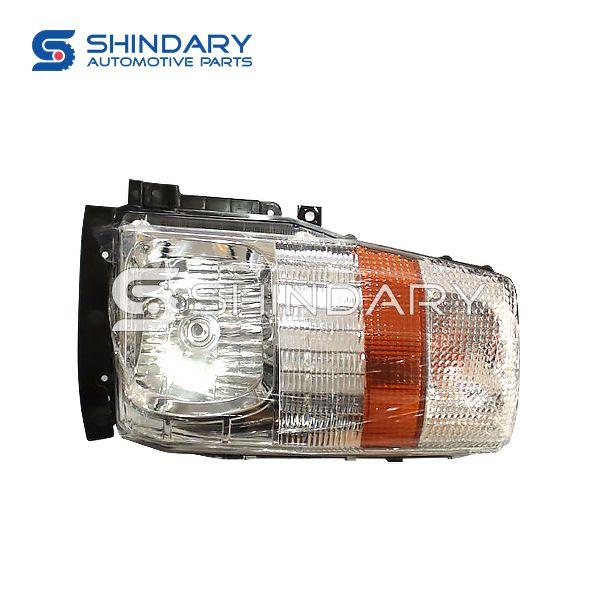 Left headlamp 4121910LE010 for JAC HFC1061