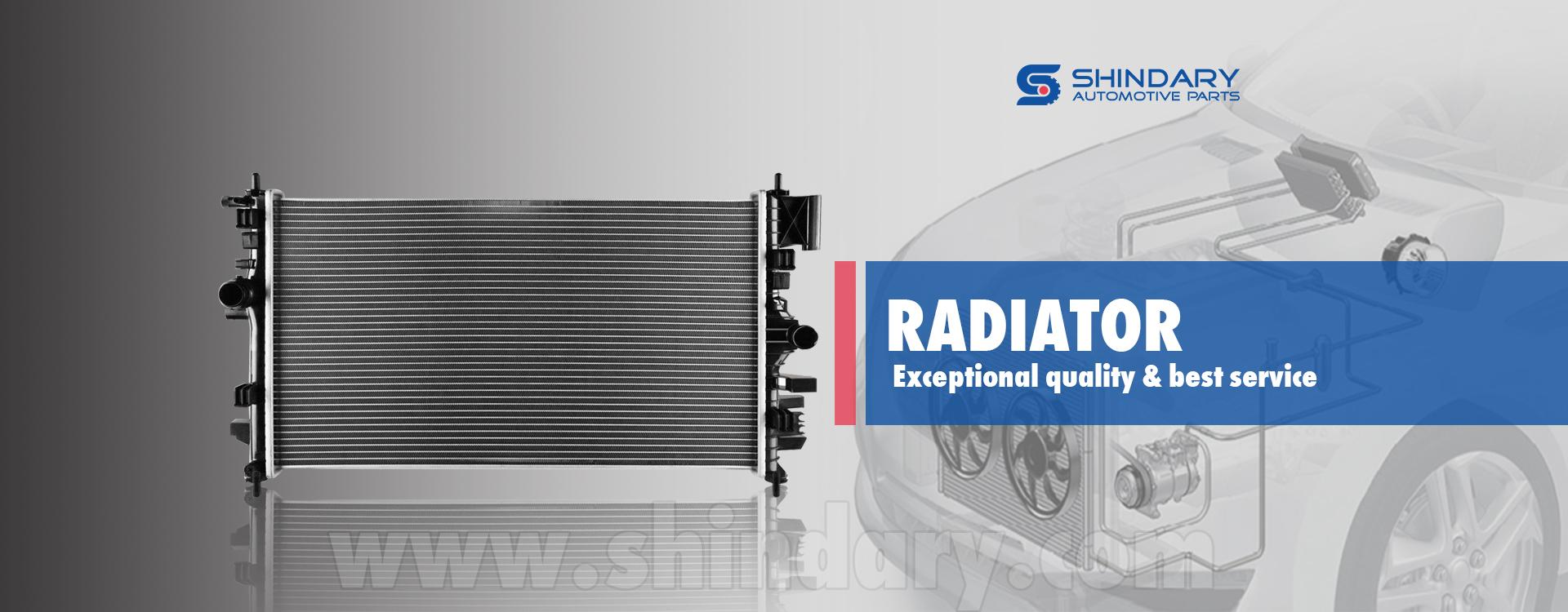 auto radiator, auto parts, China car