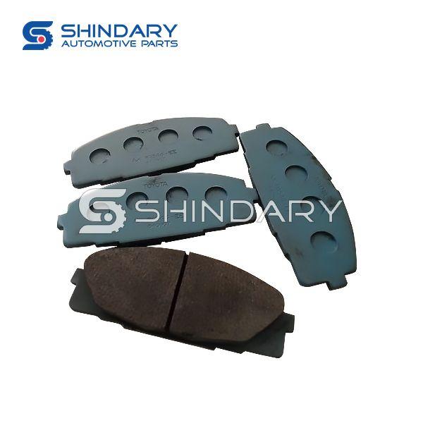 Front brake pad kit 04465-26421 for TOYOTA Hiace 2KD-FTV