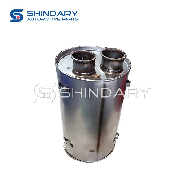 MC07 gas assisted country V muffler assembly WG9725545306 for SINOTRUK