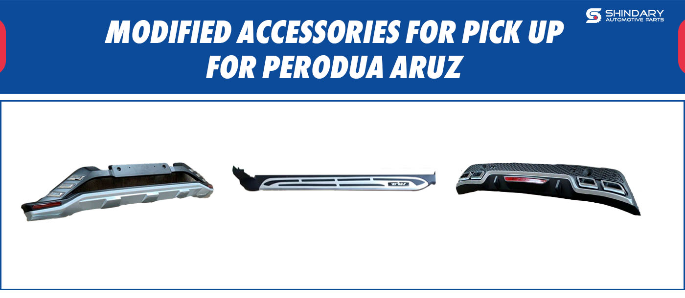 MODIFIED ACCESSORIES FOR PICK UP-PERODUA ARUZ SIDE STEP