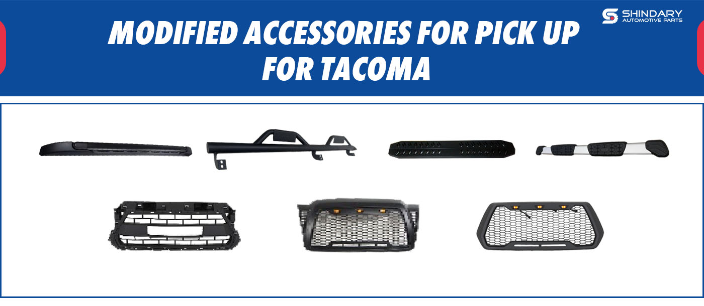 MODIFIED ACCESSORIES FOR PICK UP-TACOMA SIDE STEP