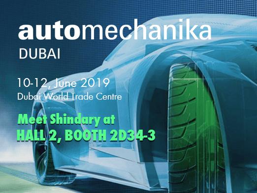 The Invitation of Automechanika DUBAI 2019 from Shindary