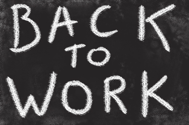 BACK TO WORK NOTICE 2020